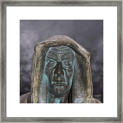 The Dark Monk Framed Print by Steev Stamford