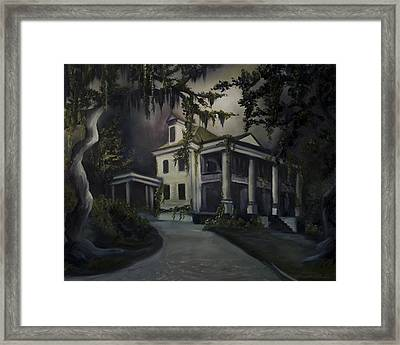 The Dark Plantation Framed Print by James Christopher Hill