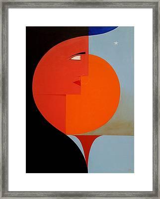 The Dawn Of New Millennium Framed Print by Mak Art