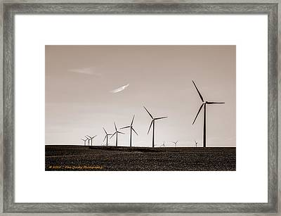 The Day After Framed Print by Dan Crosby