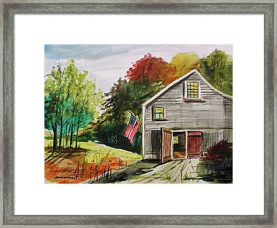 The Day After Framed Print by John Williams