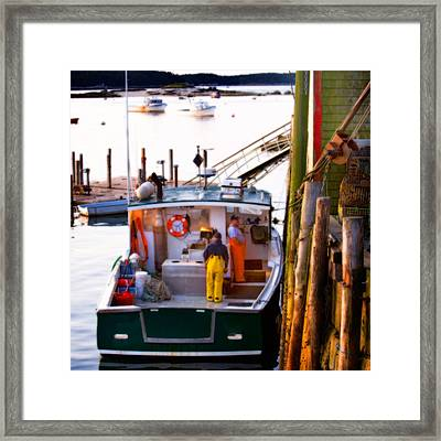 The Day Begins Framed Print by Don Powers