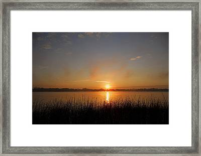 The Day Begins ... Framed Print by Juergen Weiss