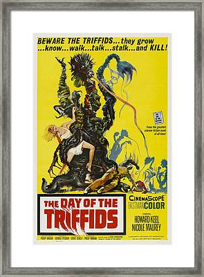 The Day Of The Triffids, 1963 Framed Print by Everett