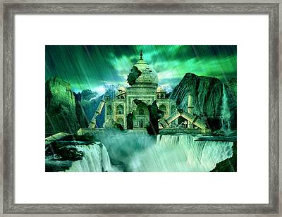 The Day The Earth Moved Framed Print by Julie L Hoddinott