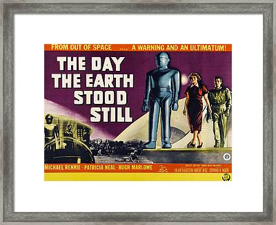 The Day The Earth Stood Still, Lock Framed Print