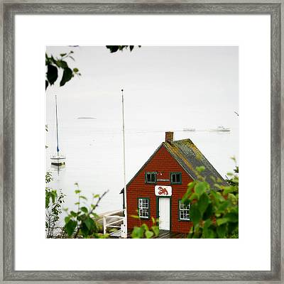 The Days Catch Framed Print by Don Powers