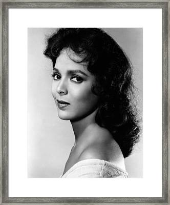 The Decks Ran Red, Dorothy Dandridge Framed Print