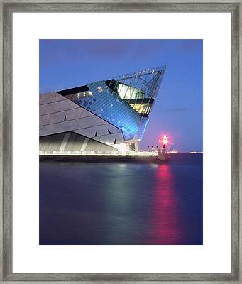 The Deep At Night Framed Print