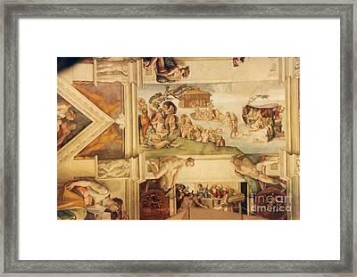 The Deluge Framed Print