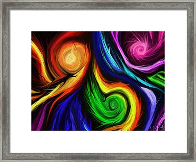 The Deposition Framed Print