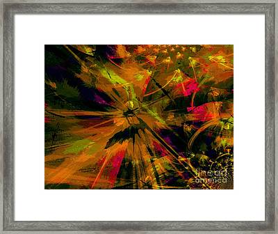The Depth Of Liberty Framed Print