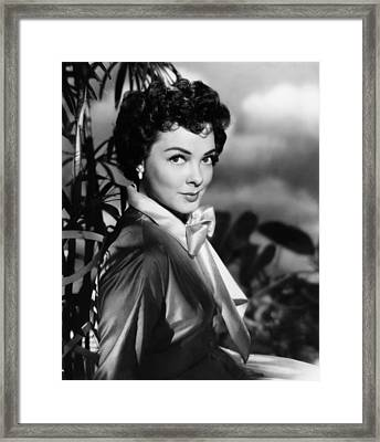 The Desert Song, Kathryn Grayson, 1953 Framed Print by Everett