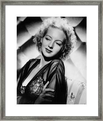 The Desperadoes, Evelyn Keyes, 1943 Framed Print by Everett