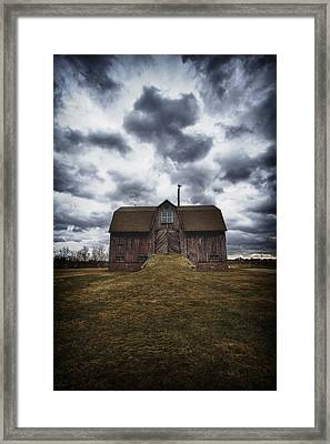 The Devil In Me Said Go Down To The Shed.... Framed Print