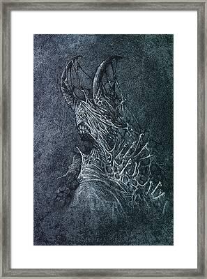 The Devil Framed Print by Maciej Kamuda