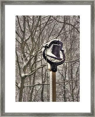 The Dinner Bell Framed Print by William Fields