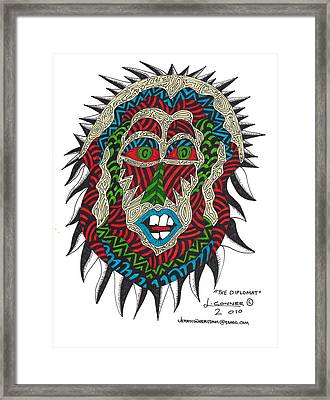 The Diplomat Framed Print by Jerry Conner
