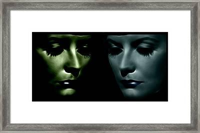 The Divine 2 Framed Print by Steve K