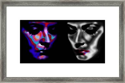 The Divine 3 Framed Print by Steve K