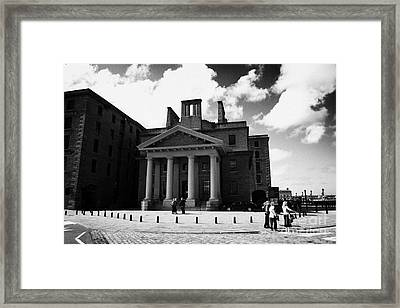 the Dock Traffic Office formerly offices of granada television at the albert dock Framed Print by Joe Fox