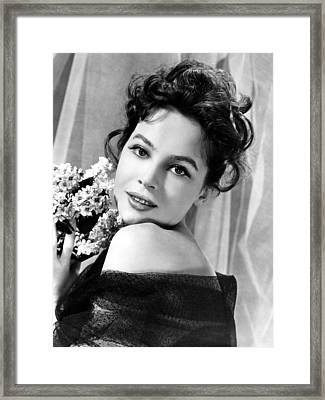 The Doctors Dilemma, Leslie Caron, 1958 Framed Print by Everett