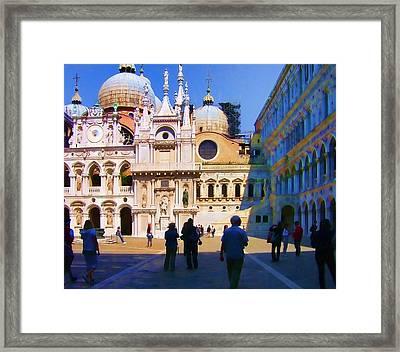 The Doge's Palace Venice Framed Print