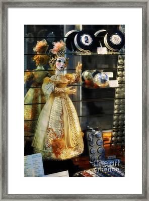 The Doll Salzburg Framed Print by Mary Machare