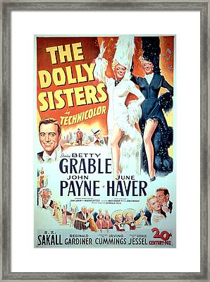 The Dolly Sisters, John Payne, Betty Framed Print by Everett