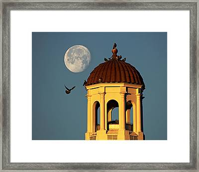The Dome Framed Print by Dan Wells