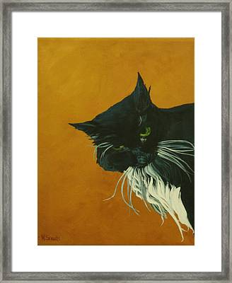 Framed Print featuring the painting The Doof by Wendy Shoults