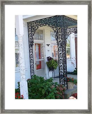 The Door's Unlock Framed Print by Paul Washington