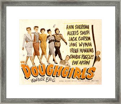 The Doughgirls, Ann Sheridan, Alexis Framed Print by Everett