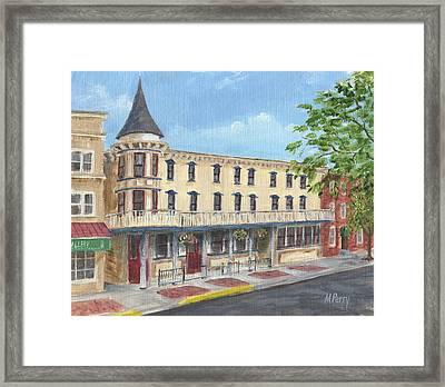 The Doylestown Inn Framed Print