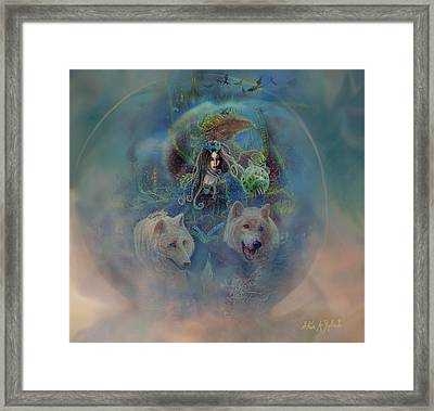 Framed Print featuring the painting The Dragons Egg by Steve Roberts