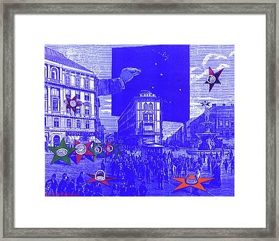 The Dream Of A Celestial City Framed Print by Eric Edelman
