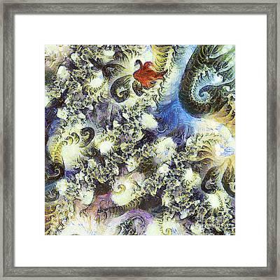 The Dream Swan Framed Print by Odon Czintos
