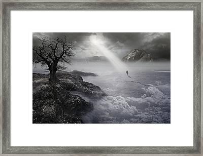The Drifter IIi Framed Print by Keith Kapple