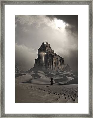 The Drifter Framed Print by Keith Kapple