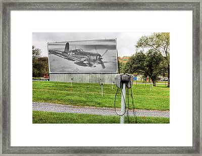 The Drive In Movie Framed Print by JC Findley