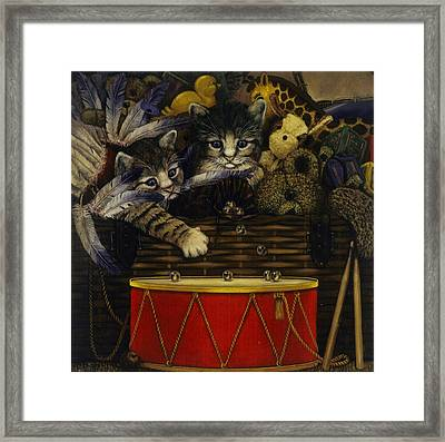 The Drum Framed Print by Steven Wood