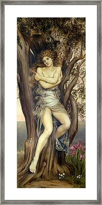 The Dryad Framed Print by Evelyn De Morgan