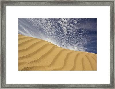 The Dunes Framed Print by Mike McGlothlen