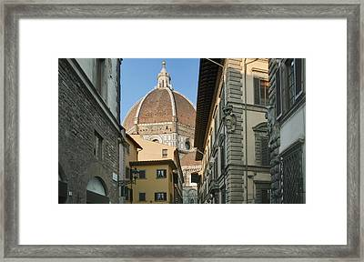 The Duomo Cathedral Church Historic Framed Print by Rob Tilley