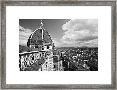 The Duomo In Florence, Italy Framed Print by Dennis Flaherty