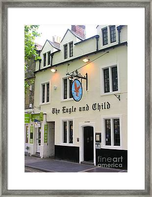 The Eagle And Child Framed Print