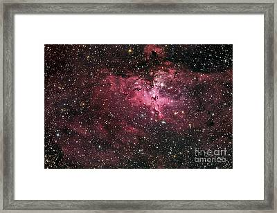 The Eagle Nebula Framed Print by Roth Ritter