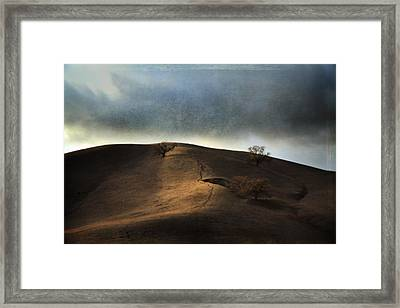The Earth Moved When You Loved Me Framed Print by Laurie Search