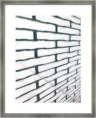 The Earthquake Rattle Framed Print