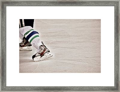 The Edge Framed Print by Karol Livote